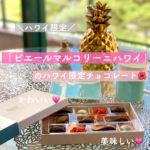 【ハワイ土産】「ピエール・マルコリーニ・ハワイ」の限定チョコレート【ドリンクも】
