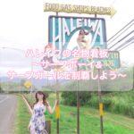 【ノースショア】名物看板の場所 サーフボーイ&サーフガールを制覇【ハレイワ】