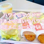 【ハワイのマクドナルド】日本との違いは?朝マックが24時間食べられる【限定メニュー・値段】