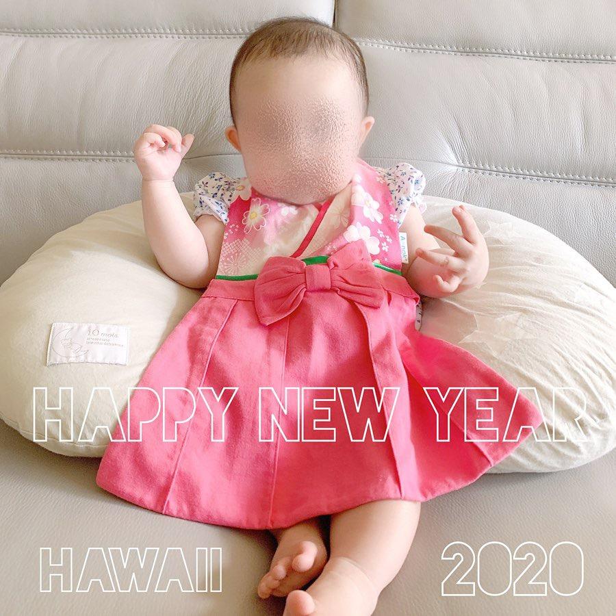 【ハワイ生活】2020年HAPPY NEW YEAR  ハワイカウントダウン花火