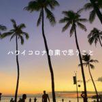 【ハワイコロナ情報】ハワイ在住者目線から渡航自粛について思うこと