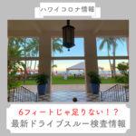 【ハワイコロナ情報】6フィートでは足りない!?ハワイ最新ドライブスルー検査情報