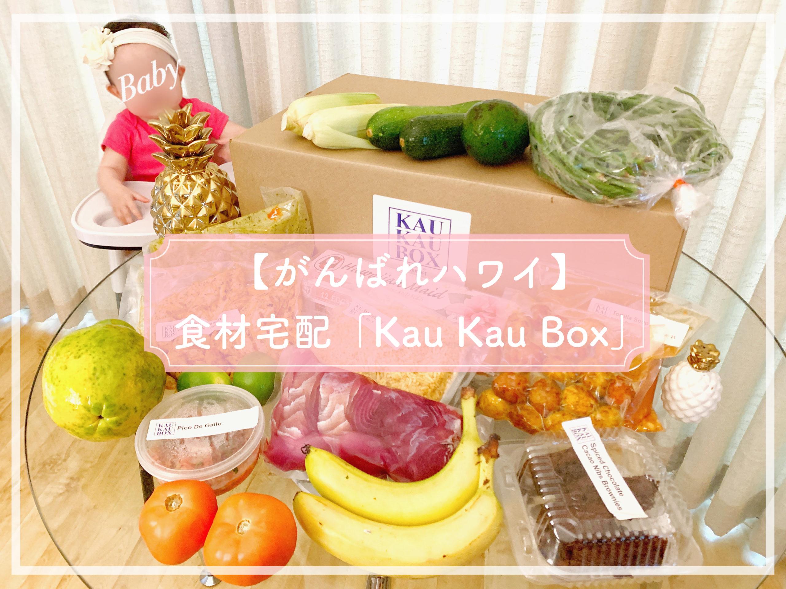 【がんばれハワイ】食材宅配サービス「Kau Kau Box(カウカウボックス)」がすごい!豪華食材とシェフの味
