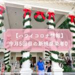 【ハワイコロナ情報】今月5回目の新規感染者0 隔離違反で観光客また逮捕
